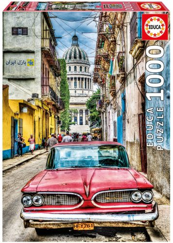 ماشین قدیمی در هاوانا