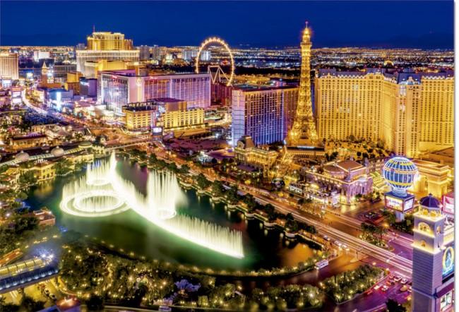 پازل ۱۰۰۰ تکه Las Vegas – نئون