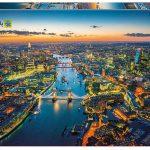 پازل ۱۵۰۰ تکه نمای هوایی لندن