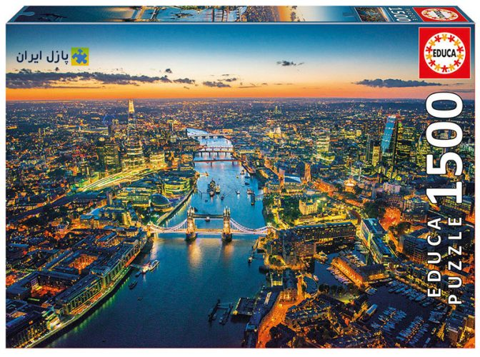 لندن از بالا پازل ادوکا
