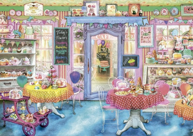 پازل ۱۵۰۰ تکه Cake Shop
