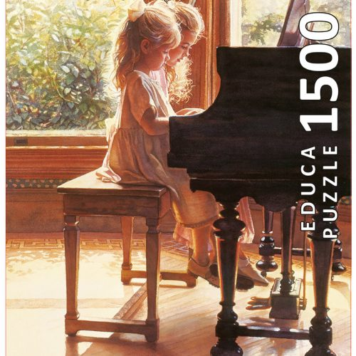پازل دخترانی پشت پیانو