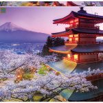 پازل ۲۰۰۰ تکه کوه فوجی – ژاپن