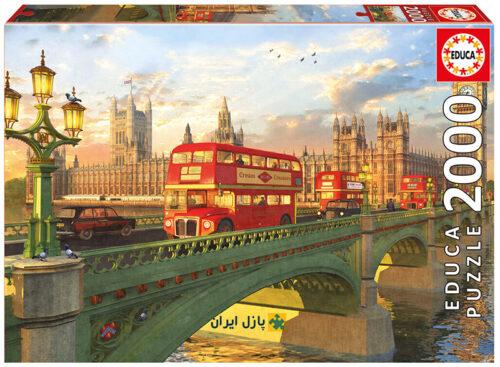 لندن نمایی از پل
