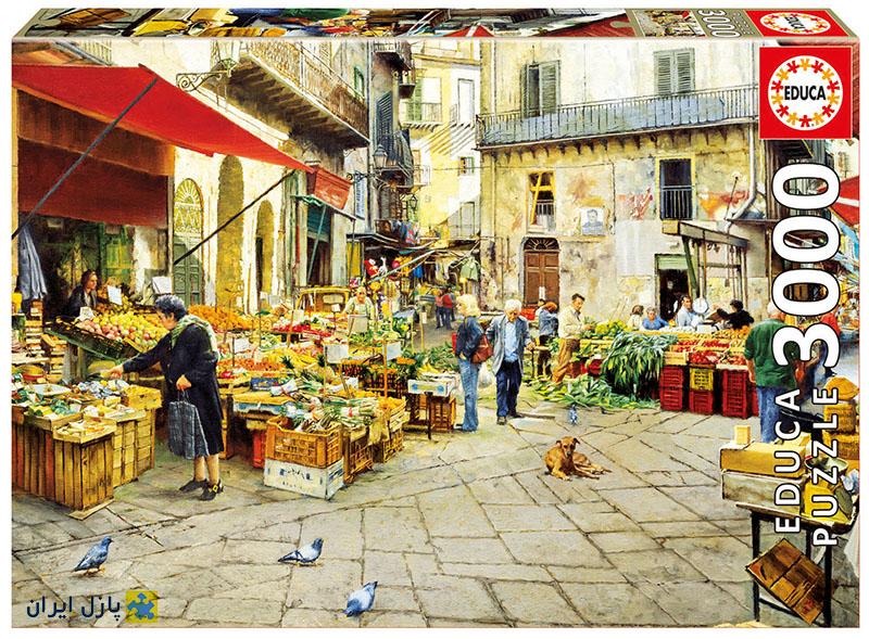 بازاری در اسپانیا اروپا