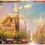 پازل ۶۰۰۰ تکه بعدازظهر نیویورک اثر الکساندر چن