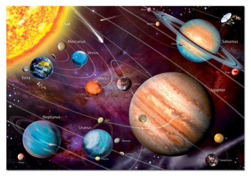 پازل ۱۰۰۰ تکه Solar System – نئون