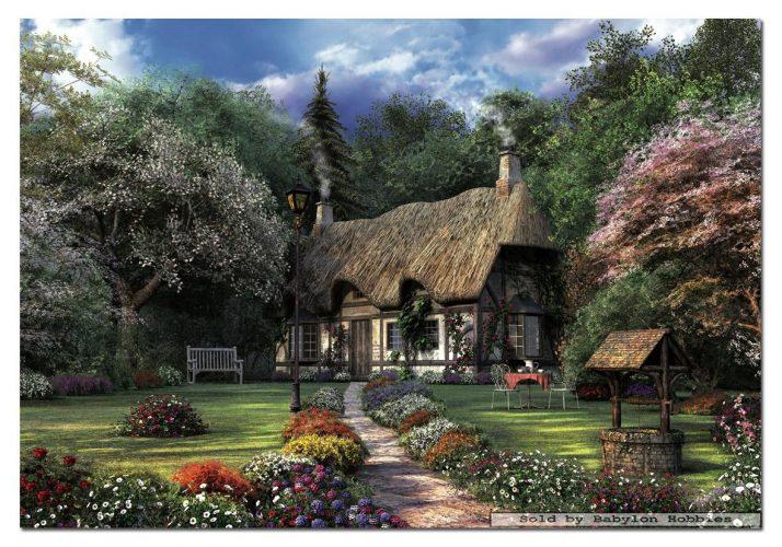 پازل ۱۵۰۰ تکه Rose Cottage , D.Davison