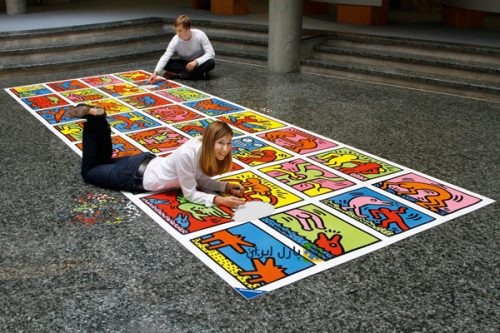 پازل ۳۲۰۰۰ تکه Double Retrospect Keith Haring