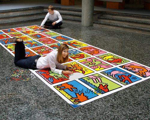 پازل ۳۲۰۰۰ تکه Double Retrospect Keith Haring