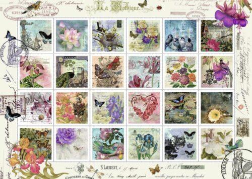 پازل تمبرهای جهان world stamps