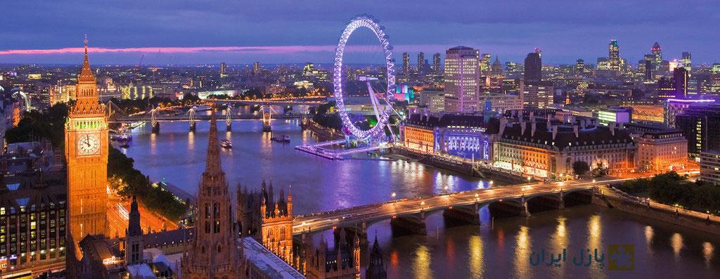 London at Night, 1000pc