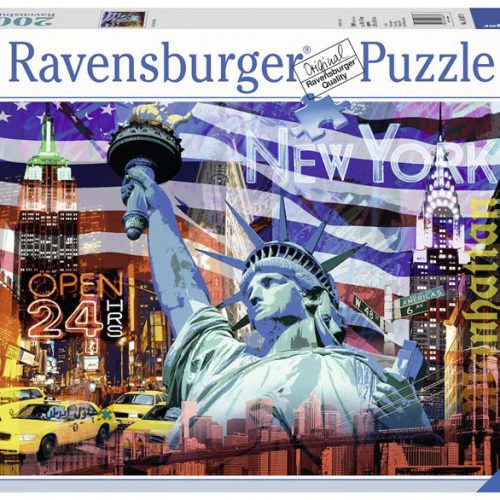Ravensburger 16687- 2000 pcs - New York Collage