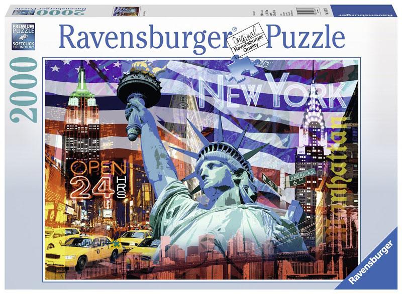 Ravensburger 16687- 2000 pcs - New York Collage