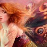 پازل ۱۰۰۰ تکه فرشته ای با بالهای پروانه اثر ملانی دلون