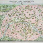 پازل ۱۰۰۰ تکه نقشه پاریس ۱۹۱۰