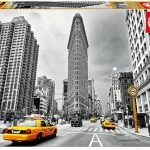 پازل ۱۰۰۰ تکه ساختمان فلت آیرن، نیویورک اثر سوزان کرمر