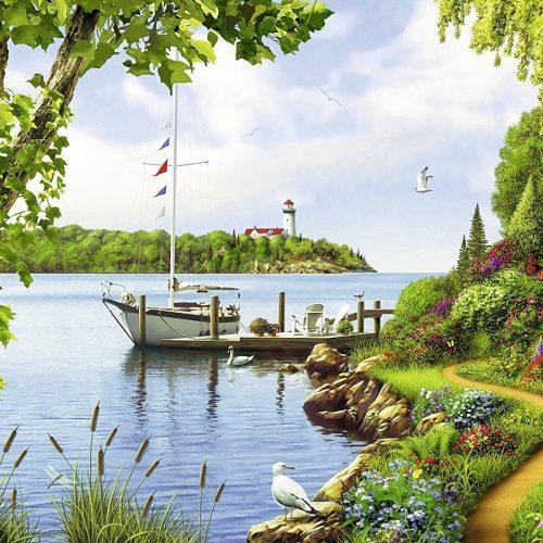 پازل روز قایق سواری