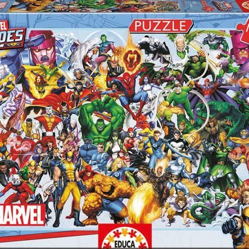 پازل ۱۰۰۰ تکه قهرمانان حیرت آور