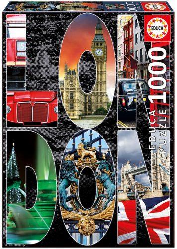 پازل ۱۰۰۰ تکه کلاژ لندن