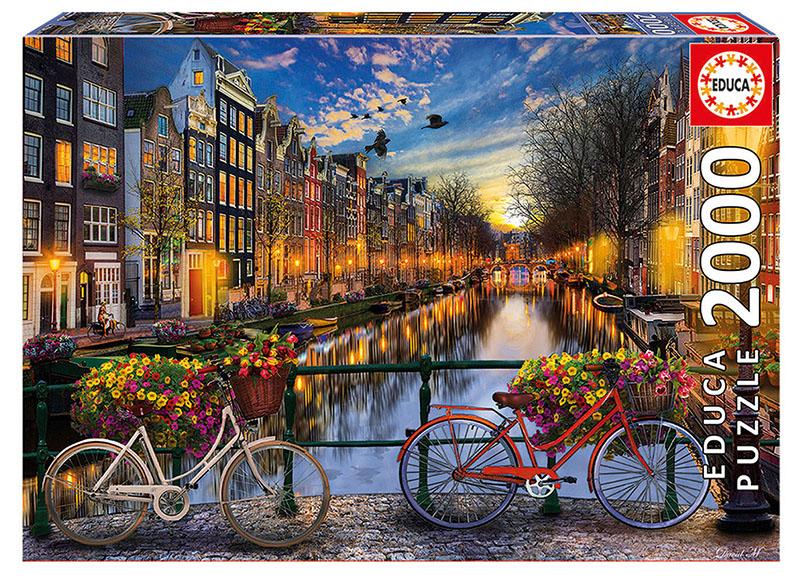 پازل ۲۰۰۰ تکه آمستردام با عشق