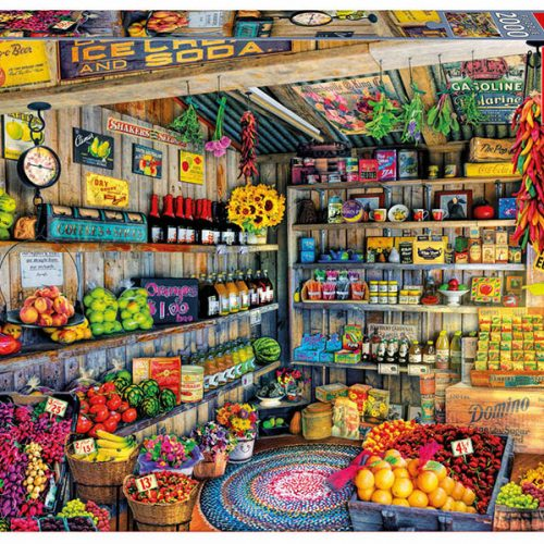 پازل ۲۰۰۰ تکه مغازه محصولات کشاورزی