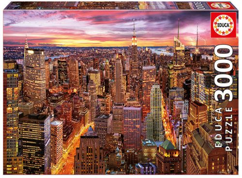 پازل ۳۰۰۰ تکه افق منهتن