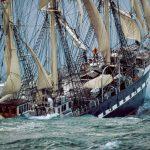 پازل ۱۰۰۰ تکه آخرین کشتی قدیمی فرانسوی