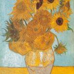 پازل ۱۰۰۰ تکه گلهای آفتابگردان اثر ونسان ون گوگ