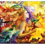 پازل ۱۰۰۰ تکه رویای پروانه ای اثر نادیا استرلکینا