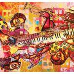 پازل ۱۰۰۰ تکه ارکستر اثر لری پونچو براون