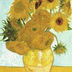 پازل ۱۰۰۰ تکه گل های آفتابگردان اثر ونسان ون گوگ