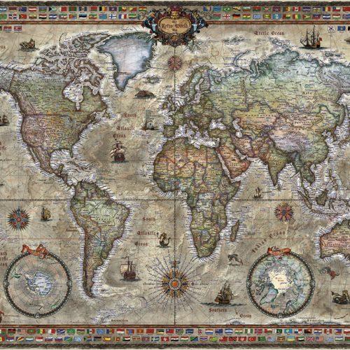puzzle 1000 piezas The Piri Reis Map Art Puzzle 4308 Piri
