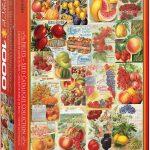 پازل ۱۰۰۰ تکه مجموعه کاتالوگ های دانه های میوه