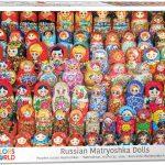 پازل ۱۰۰۰ تکه عروسک های ماتروشکای روسی – اسمارت کات
