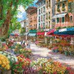 پازل ۱۰۰۰ تکه بازار گل پاریس