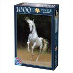 پازل ۱۰۰۰ تکه اسب سفید