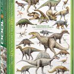 پازل ۱۰۰۰ تکه دایناسورهای دوره کریتاسیوس – اسمارت کات