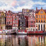 پازل ۱۰۰۰ تکه خانه های رقصان – آمستردام